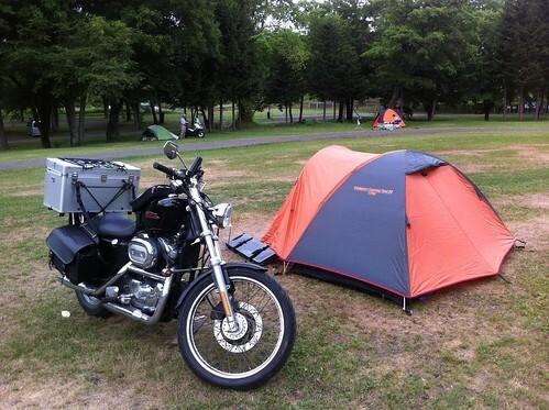 キャンプ 天気 大洗 場