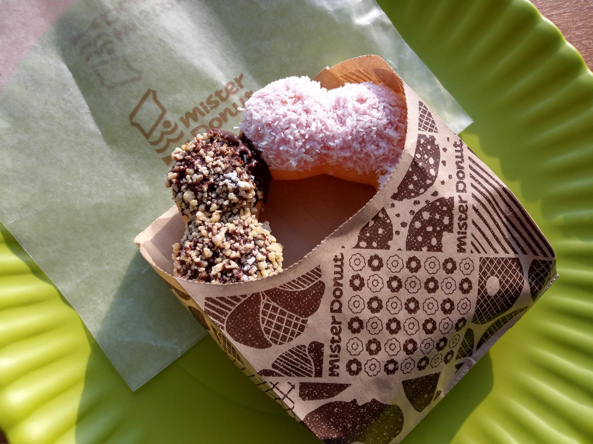 ポン・デ・リング×ココナツチョコレート×ゴールデンチョコレート