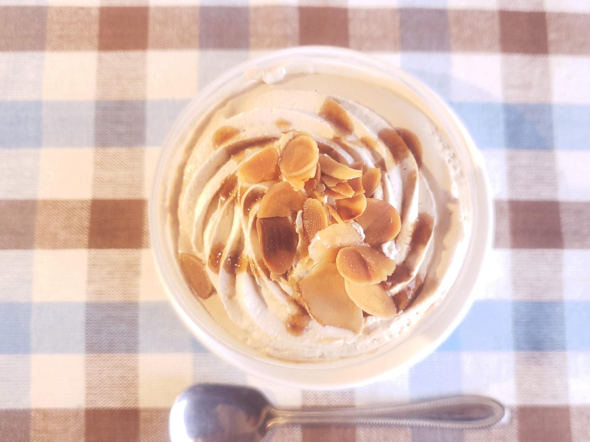 ファミマのクリームたっぷりコーヒーゼリー
