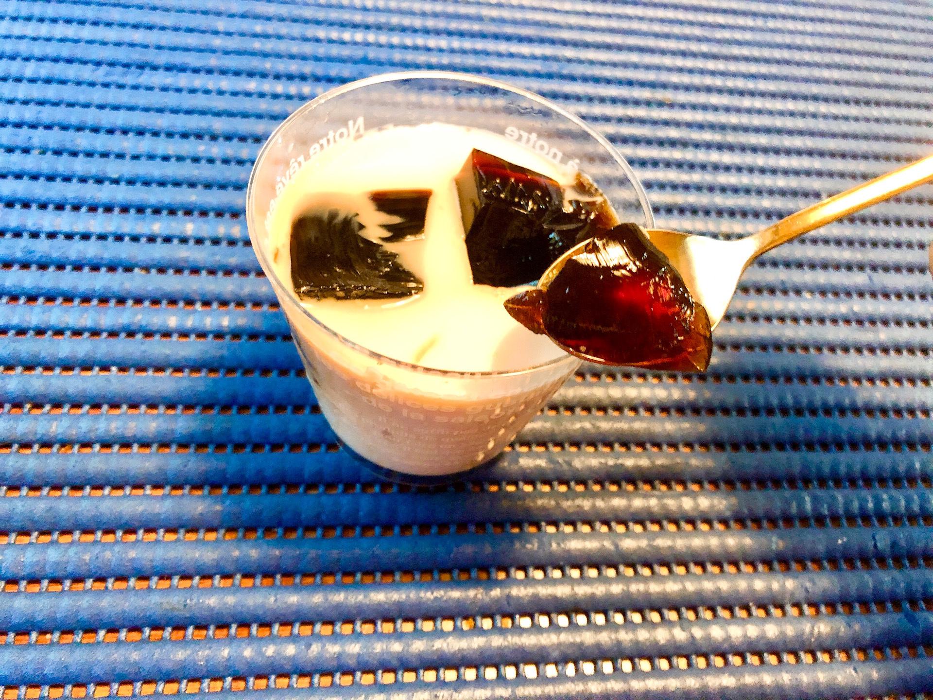 成城石井の自家製コーヒーゼリー