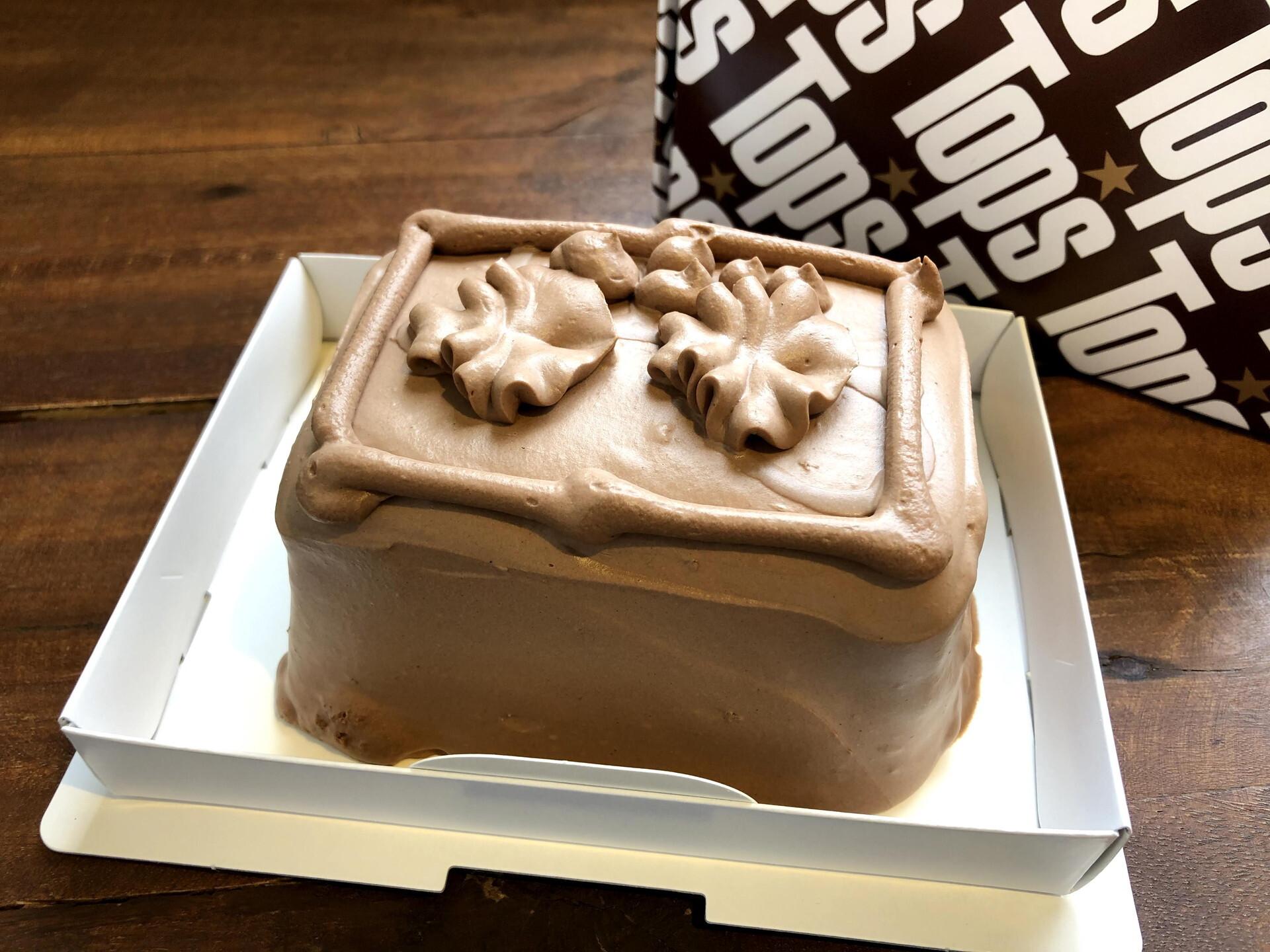 トップスの「チョコレートケーキ」