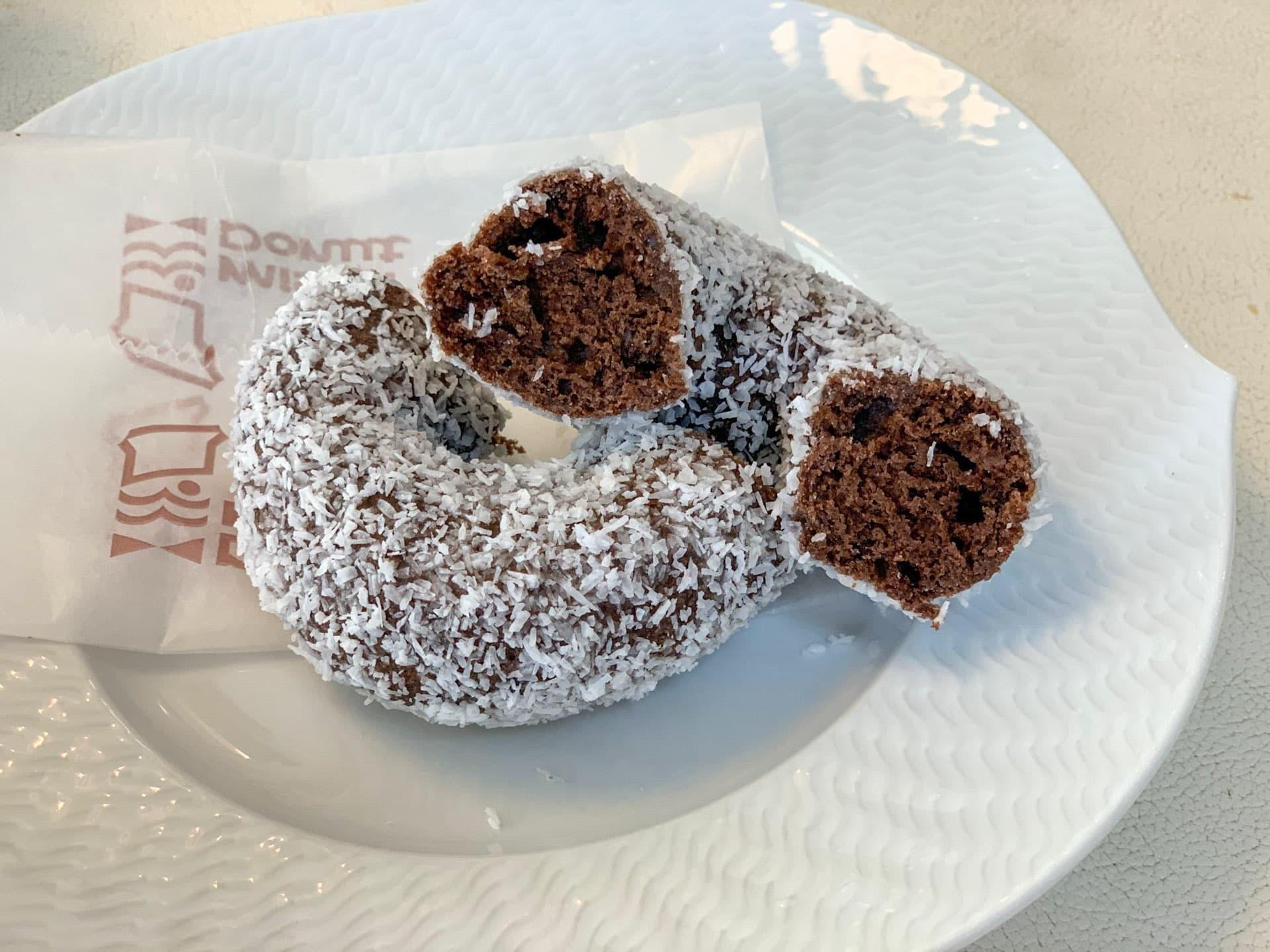 ミスタードナツ「ココナツチョコレート」