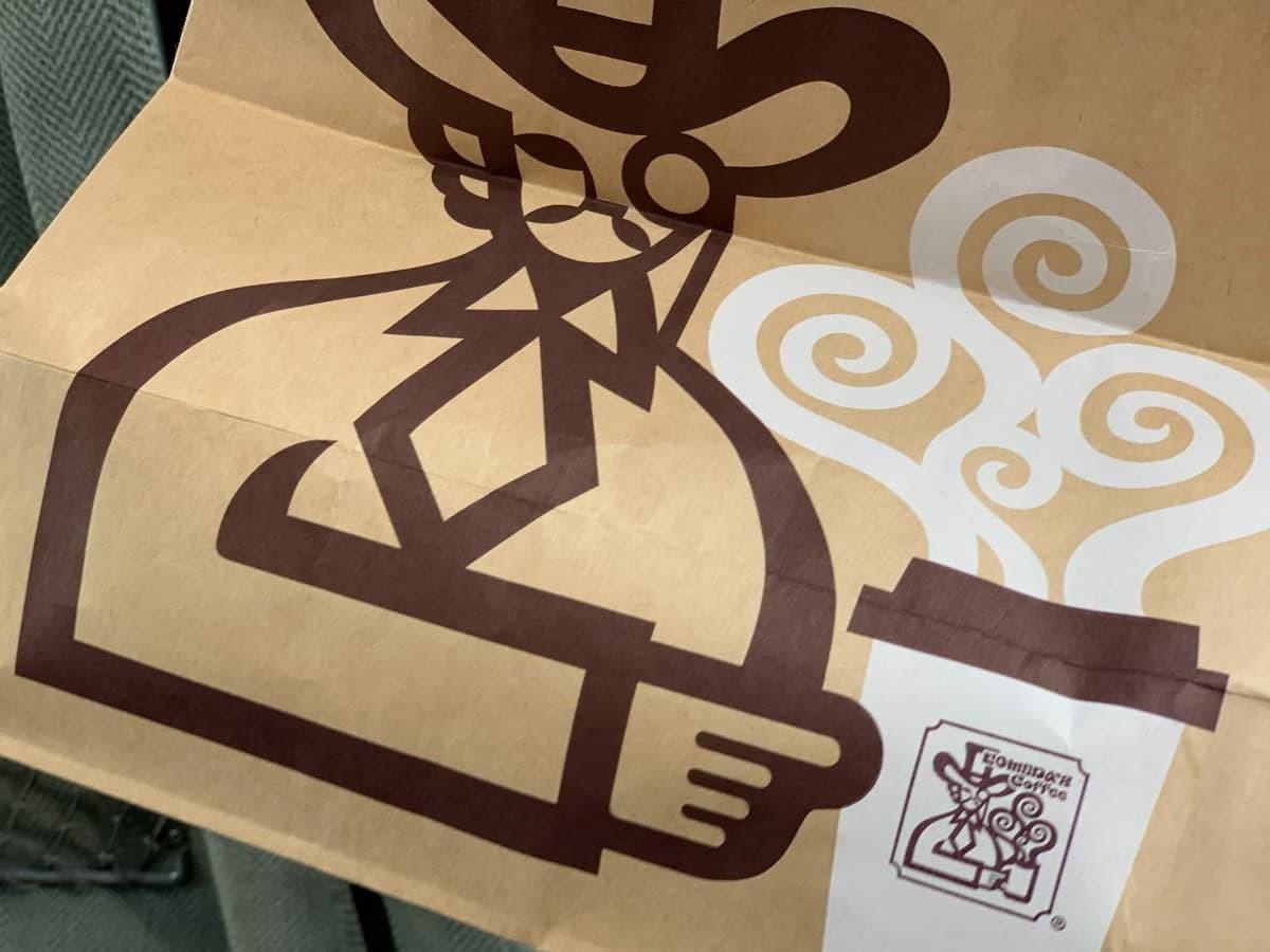 コメダ珈琲店の紙袋