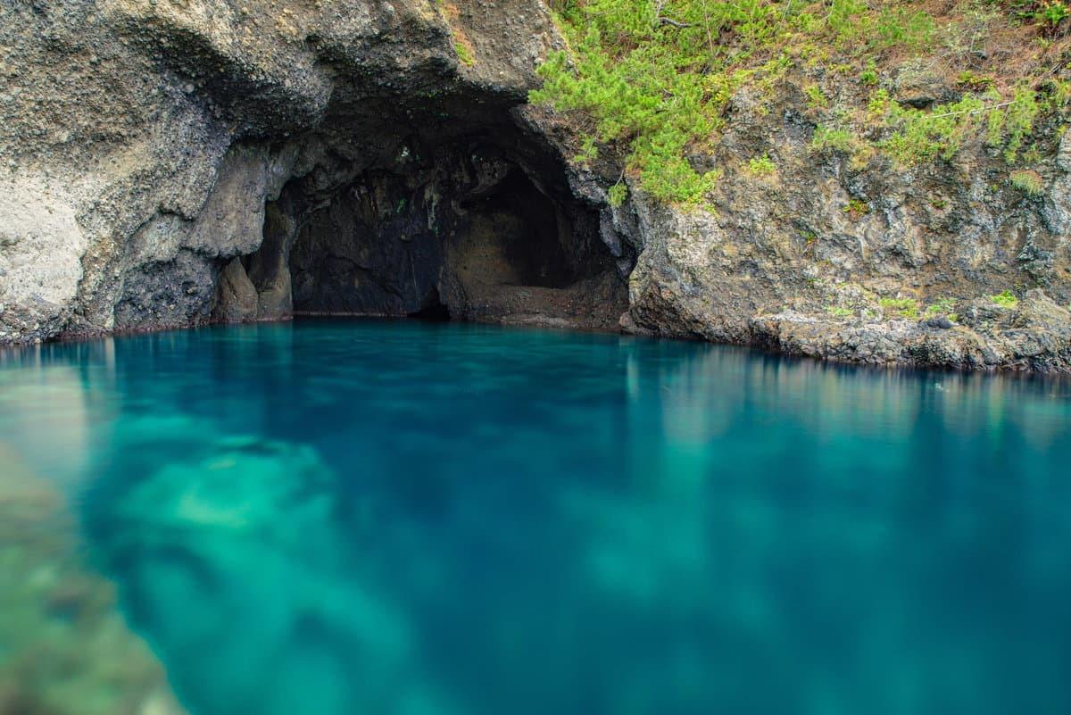竜王洞 青の洞窟