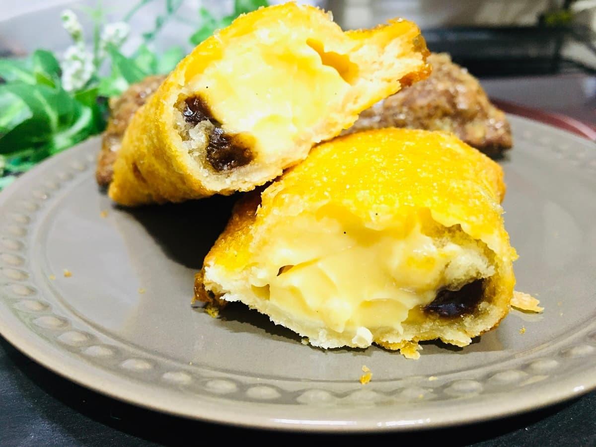 マクドナルド「クリームブリュレパイ」と「ベルギーショコラパイ」