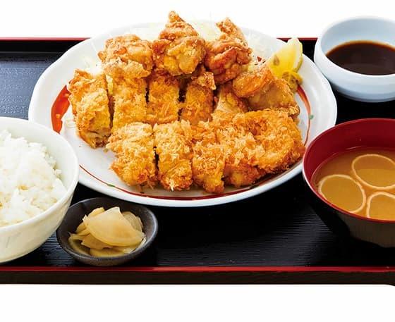 チキン・チキン定食