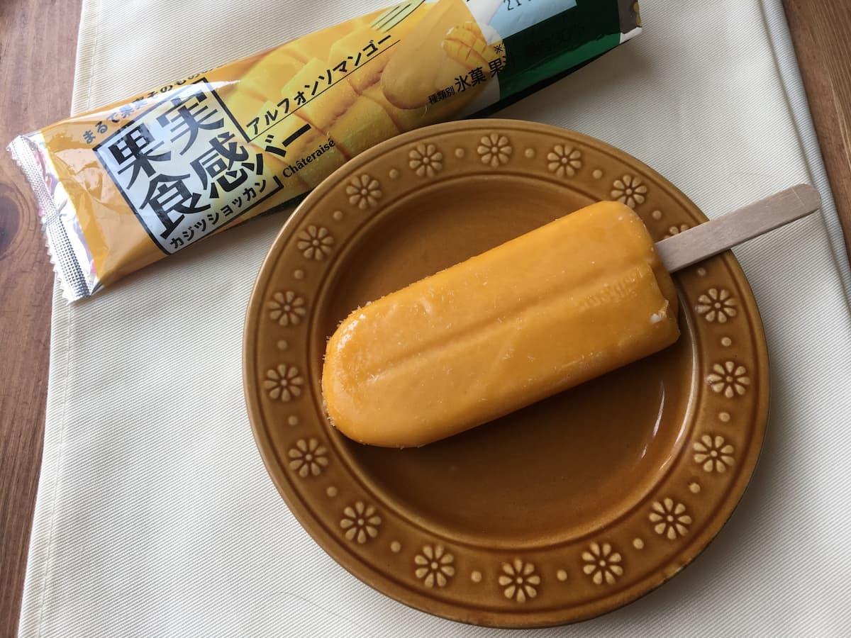シャトレーゼ果実食感バー アルフォンソマンゴー