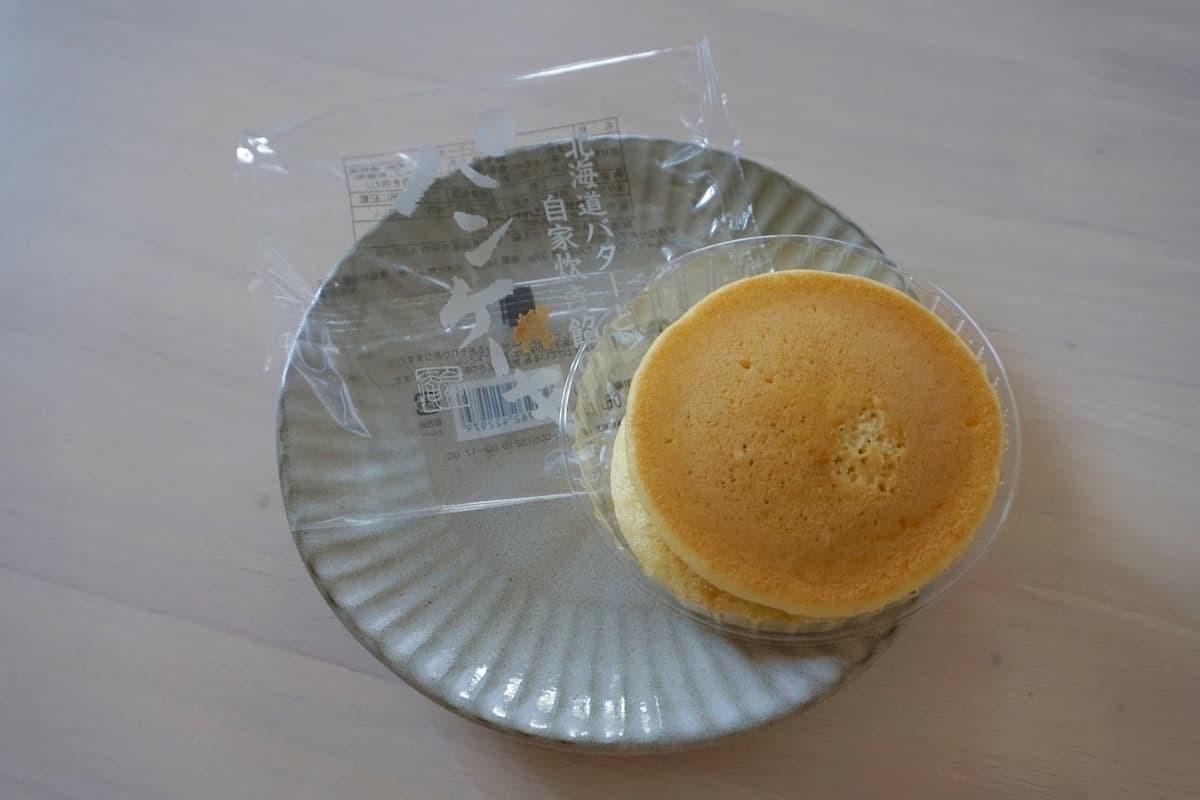 シャトレーゼ北海道バターと自家炊き餡のパンケーキ
