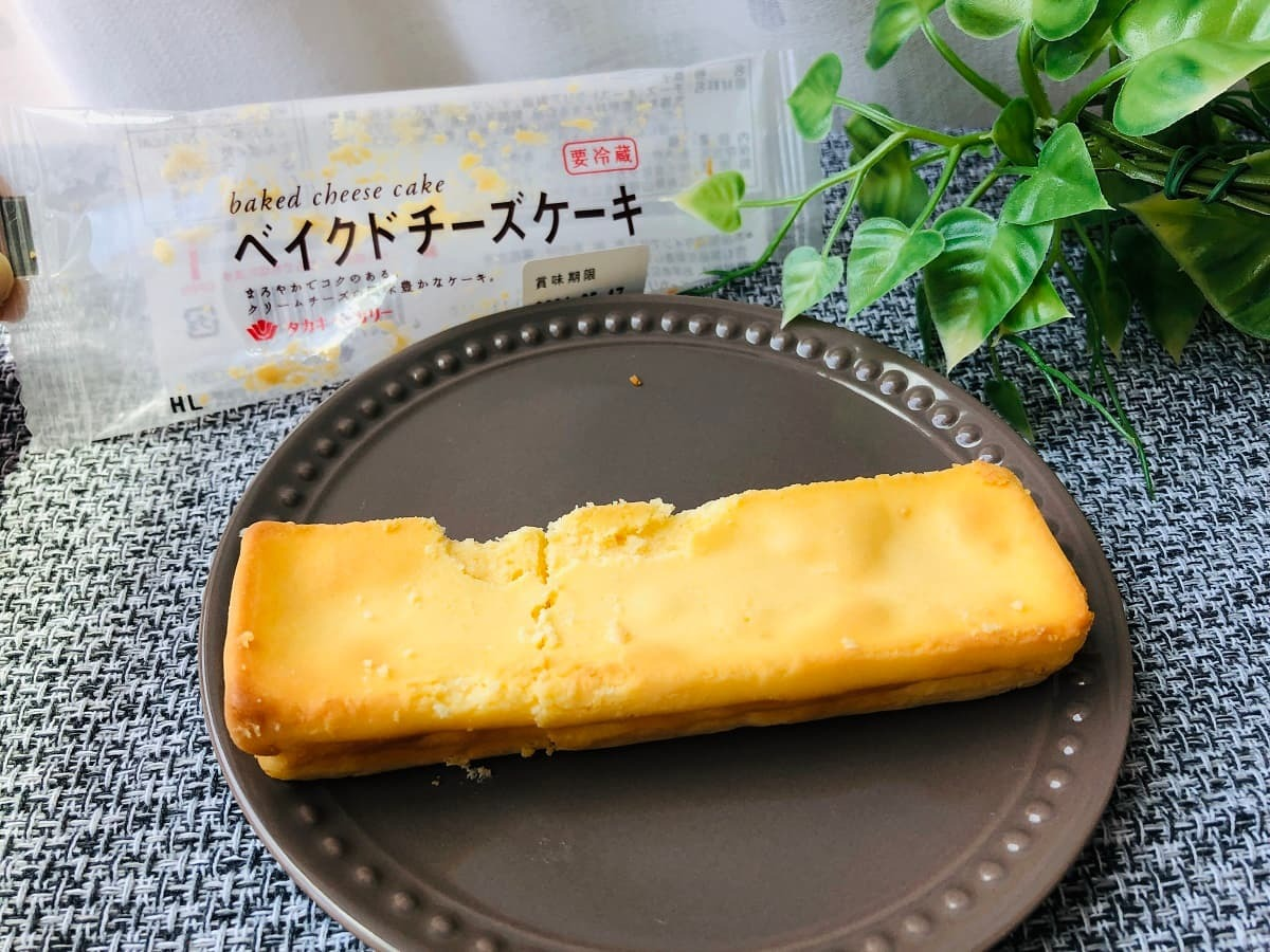 タカキベーカリーベイクドチーズケーキ