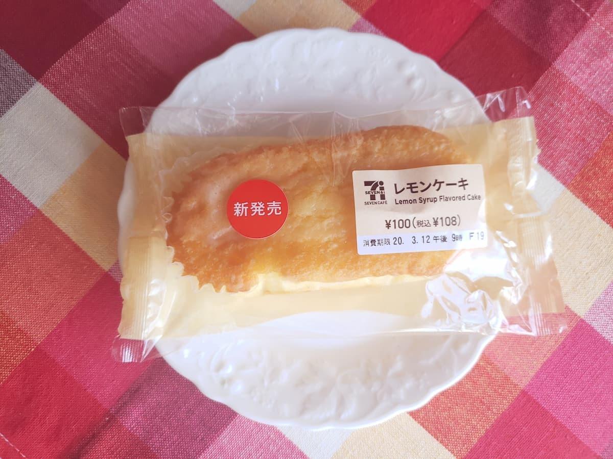 セブン-イレブンレモンケーキ