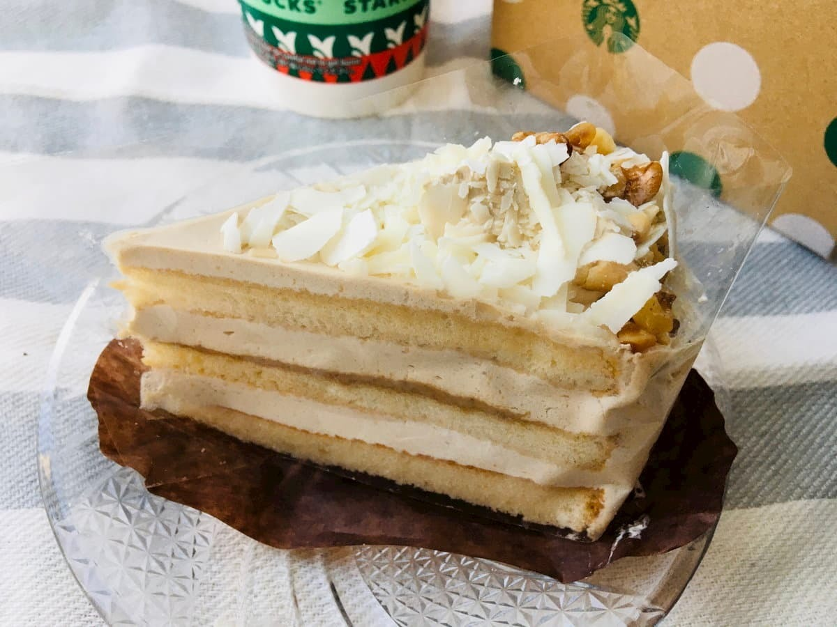 スターバックスホワイトモカケーキ