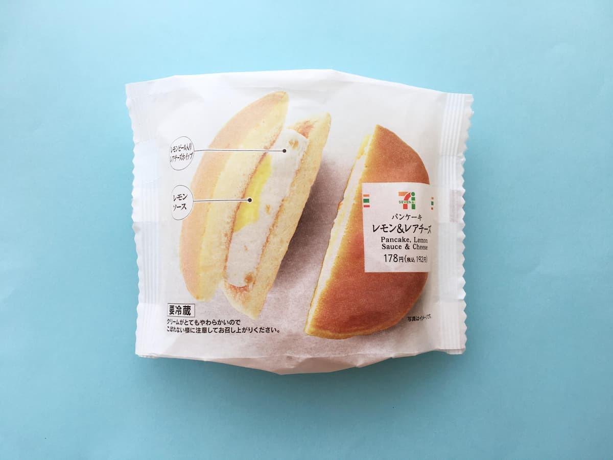 セブンイレブンパンケーキ レモン&レアチーズ