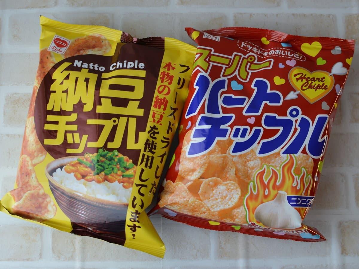 ハートチップルと納豆チップル