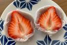 実食レポ【鈴懸】あまおう苺が美味しすぎる!「苺大福」