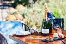 フォーシーズンズホテル京都がテラスで楽しむ「シャンパンガーデン」を開始