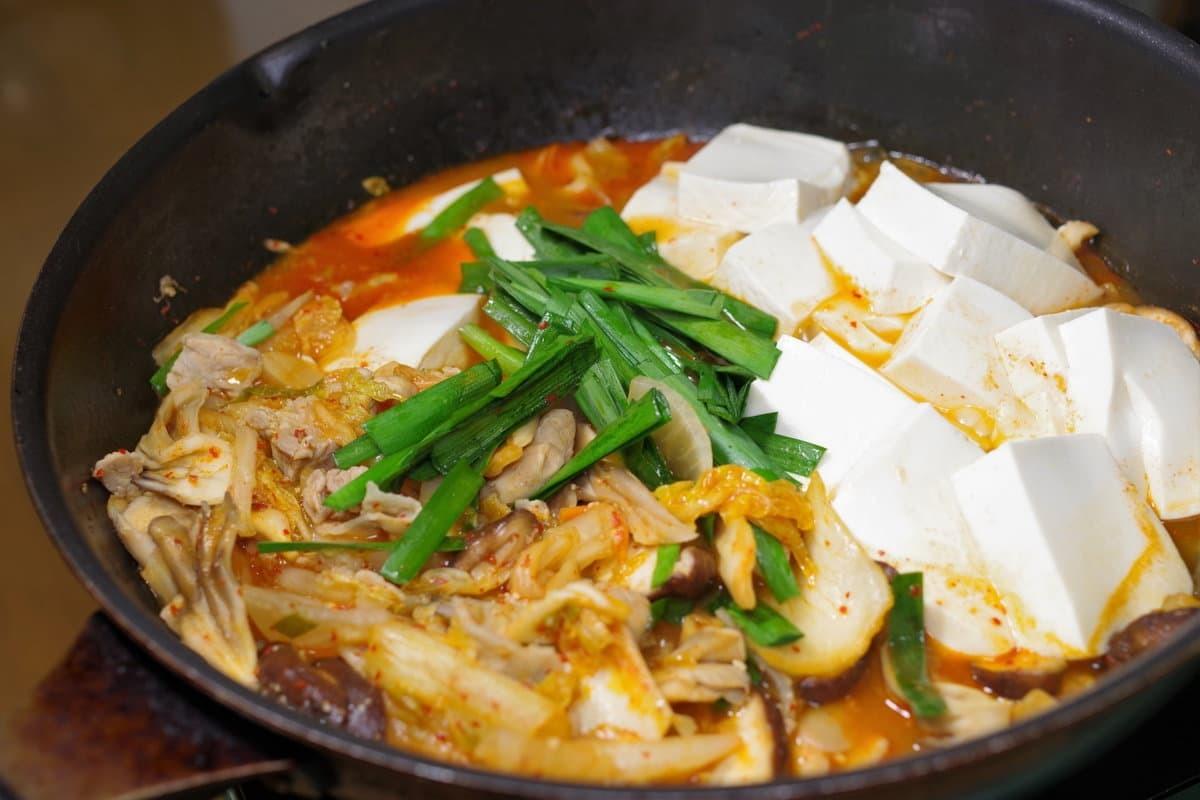 キムチ 鍋 チーズ リゾット