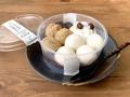 もちぷるの食感が楽しい♪【セブン】もっちり白玉&わらび餅のぜんざい