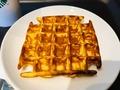 実食!発酵バターとシュガーがやみつき♡スタバ「アメリカンワッフル」