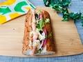 実食!10種類の野菜を食べる春サンド♡サブウェイ「タルタルシュリンプ」