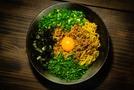 お家時間で作りたい【台湾まぜそば】の簡単レシピを伝授!うどんでも作れる?