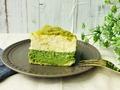 実食!抹茶×マスカルポーネチーズの味わい♡ルタオの「宇治抹茶ミルクドゥーブル」